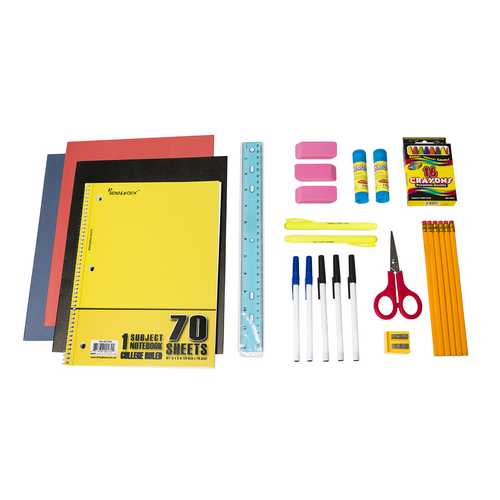 Case of [12] Pre-Filled Pencil Pouch Kit (27 pc.)