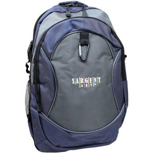 "Case of [24] 17"" Premium Backpack - Black/Navy"