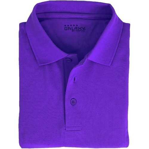 Case of [36] Adult Short Sleeve Grape Polo Shirts - Sizes M-XXL
