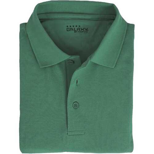 Case of [36] Adult Short Sleeve Hunter Polo Shirts - Sizes M-XXL