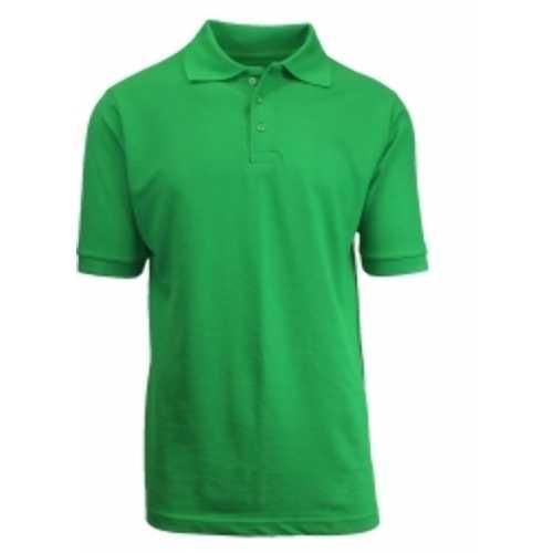 Case of [36] Adult Short Sleeve Kelly Green Polo Shirts - Sizes M-XXL