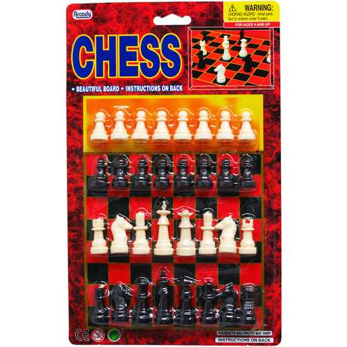 Case of [72] 32-Piece Chess Game Play Set