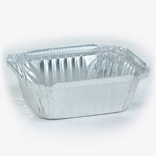 Case of [1000] Aluminum 1 lb. Oblong Pan - Nicole Home Collection