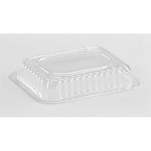 Case of [1000] Dome Lid For 1 lb. Oblong Pan - Nicole Home Collection