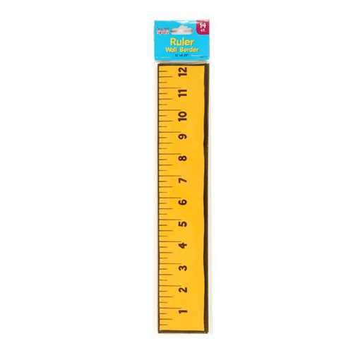 Case of [12] 14 count Ruler Wall Border