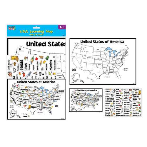 Case of [12] Educational Maps of the USA