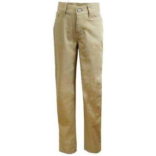 Case of [24] Girls' Khaki Fashion Stretch Skinny Pants - Size 18