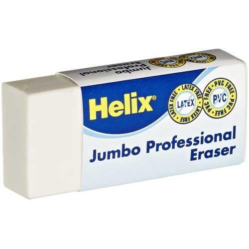 Case of [120] Helix Jumbo Professional Eraser