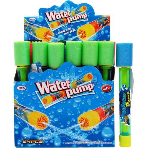 "Case of [144] 10.5"" x 1.5"" Clear Water Pump Blaster Set"