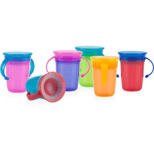 Case of [12] Nuby? 2-Handle No-Spill 360 Wonder Cup