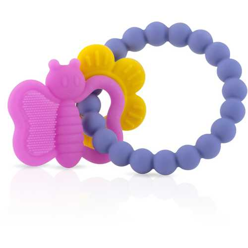 Case of [12] Nuby? Chewy Charms Silicone Teether, Girls