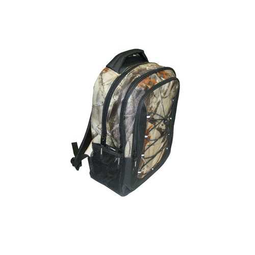 """Case of [12] 17"""" Premium Bungee Backpack - Camo"""