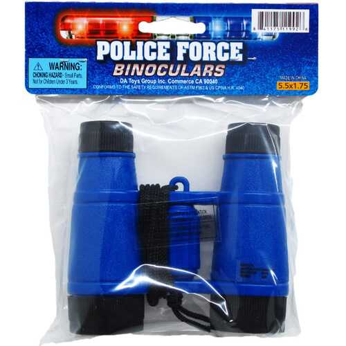 """Case of [144] 3.75"""" Assorted Color Police Toy Binoculars"""