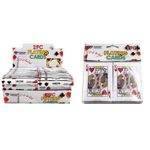 Case of [24] 2 Pack Playing Cards