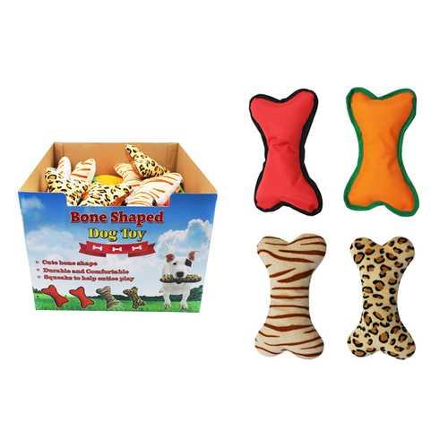Case of [36] Bone Shaped Dog Toy