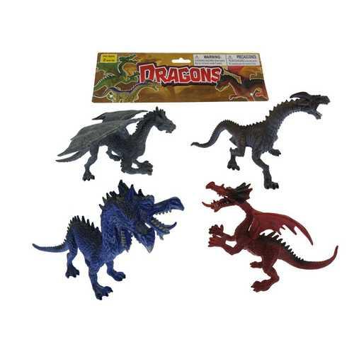 Case of [24] Animal Dragons Play Set Large (4 Piece Set)