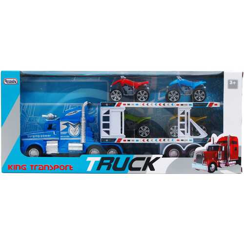 """Case of [12] 16.25"""" Friction Power Truck with 4-Piece 3"""" Quads"""