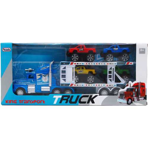 """Case of [12] 16.25"""" Friction Power Truck with 4-Piece 4"""" Trucks"""