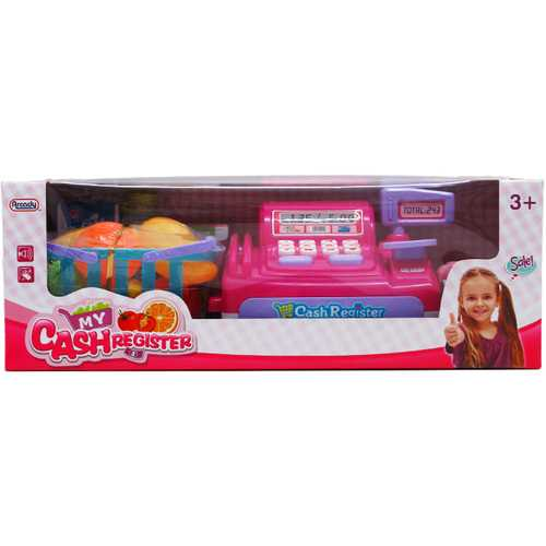 Case of [12] Battery Operated Cash Register with Accessories