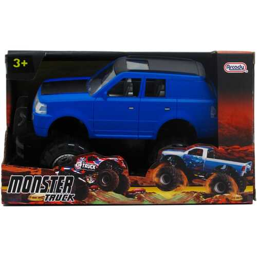 """Case of [12] 8"""" Assorted Color Friction Power Monster SUV"""