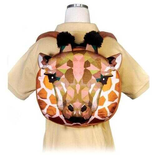 "Case of [12] 11.5"" Crystal Critters Giraffeh Backpack"