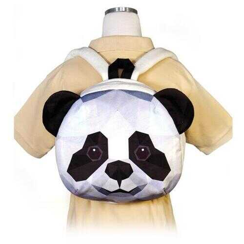 "Case of [12] 11.5"" Crystal Critters Panda Backpack"