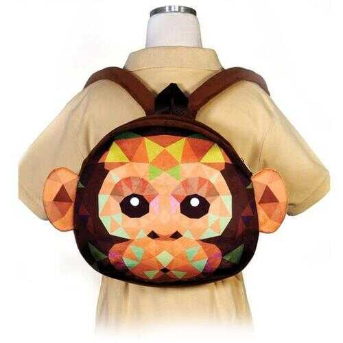 "Case of [12] 11.5"" Crystal Critters Monkey Backpack"