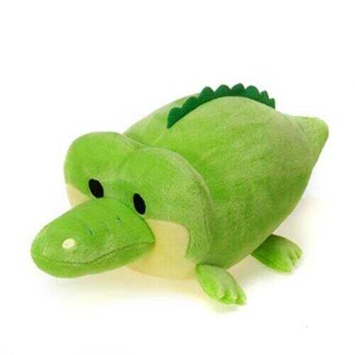 "Case of [24] 12"" Lil' Huggy Alligator Plush Toy - Green"