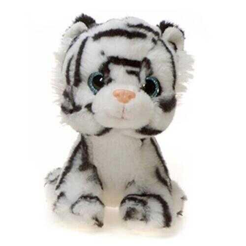 "Case of [24] 7"" Windy White Tiger Plush Toy"