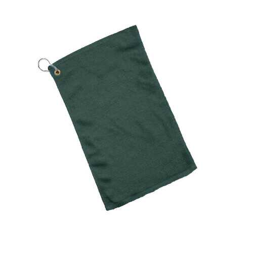 Case of [240] Grommet Budget Rally / Fingertip Towel - Forest Green