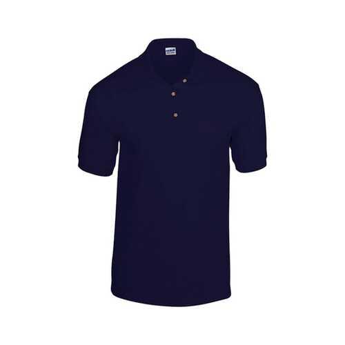 Case of [12] Gildan Irregular Polo Shirts - Navy - Medium