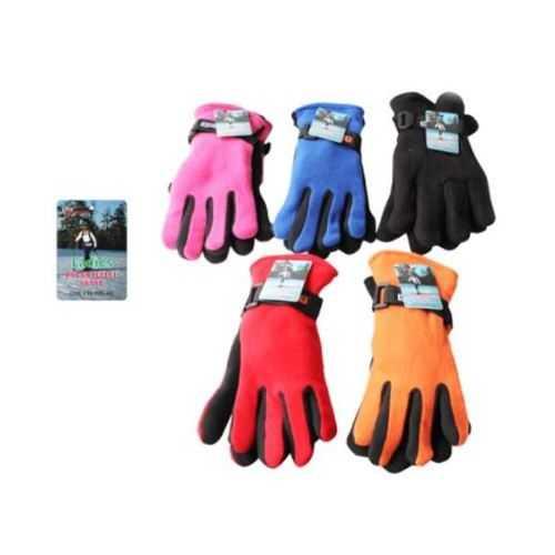 Case of [120] Women's Polar Fleece Gloves