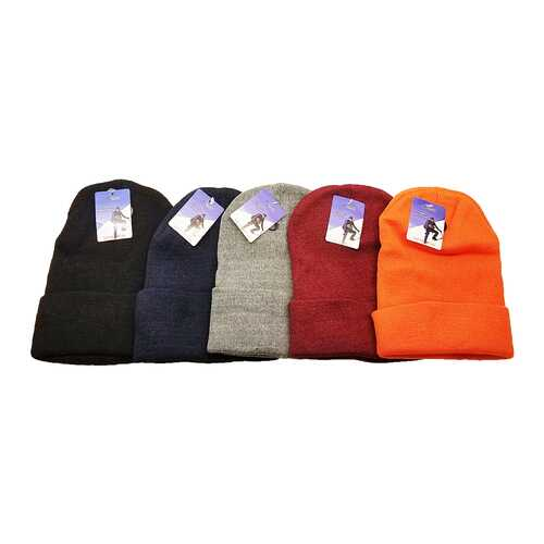 Case of [120] Adult Cuffed Knit Beanies