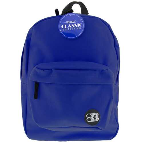 "Case of [12] 17"" Basic Blue Backpack"