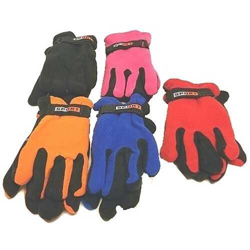 Case of [144] Kids' Polar Fleece Gloves