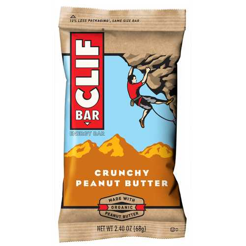 Case of [12] Clif Bar Crunchy Peanut Butter 2.4oz
