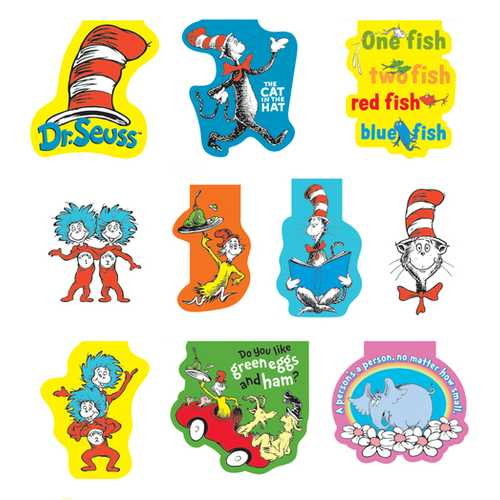 Case of [100] Dr. Seuss Magnetic Bookmark