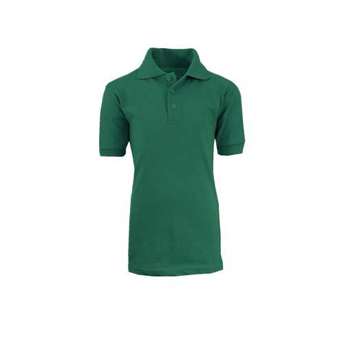 Case of [36] Boys School Hunter Uniform Short Sleeve Polo Shirts - Size Size 8-18