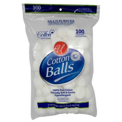Case of [96] 100 Count Cotton Balls