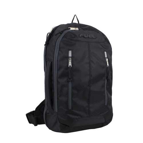 "Case of [12] 18"" Fuel Premium Crossbody Backpack - Black"