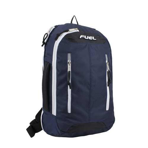 "Case of [12] 18"" Fuel Premium Crossbody Backpack - Navy"