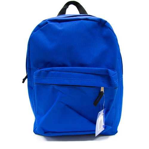 """Case of [12] 15"""" Basic Backpack - Blue"""
