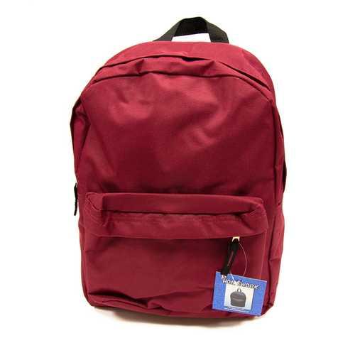 "Case of [12] 15"" Basic Backpack - Burgundy"