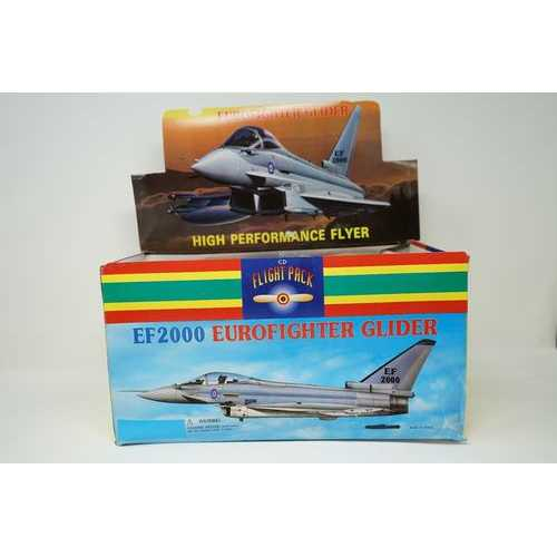 Case of [72] Eurofighter Glider Styrofoam Airplane