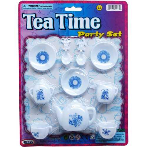 Case of [48] 10-Piece Pretend Little Tea Play Set