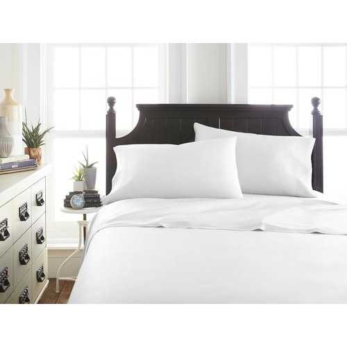 Case of [12] California KingPremium Bamboo 4 Piece Luxury Bed Sheet Set - White