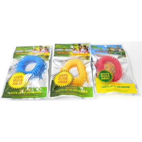 Case of [144] Insect Repelling Mosquito Band Deet Free Bracelet