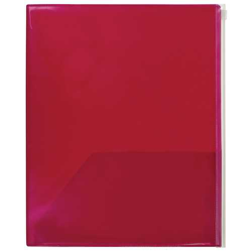 "Case of [36] Poly 2 Pocket Portfolio with Storage - Bright Colors - 11.5"" X 9.4"""