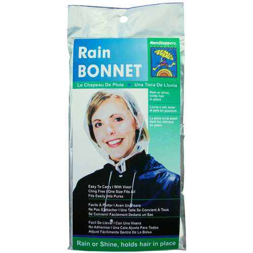 Case of [24] Women's Clear Rain Bonnets