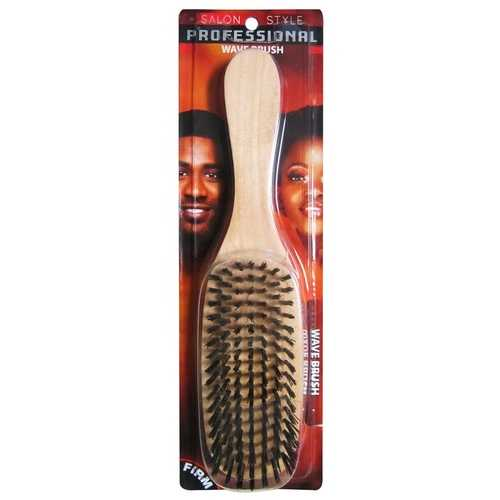 Case of [24] Firm Wooden Wave Hair Brush